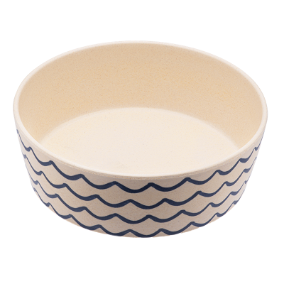Beco Bamboo Bowl Ocean Waves - Large