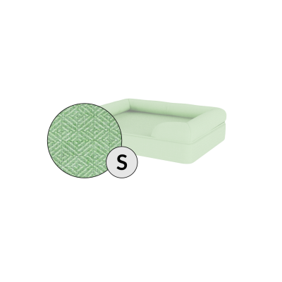 Bolster Dog Bed Cover Only - Small - Matcha Green