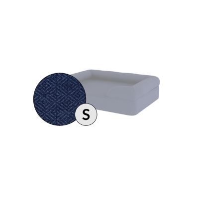 Bolster Dog Bed Cover Only - Small - Midnight Blue