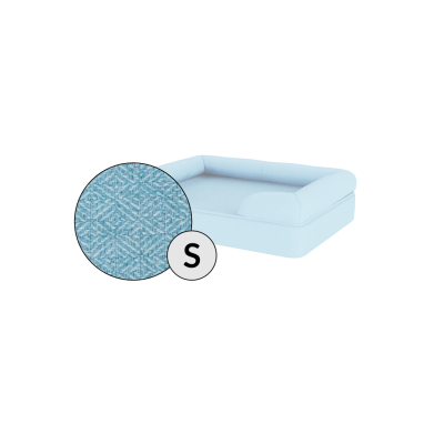 Bolster Dog Bed Cover Only - Small - Sky Blue