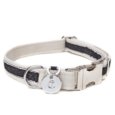 Cloud7 Dog Collar Hugo Black - Medium