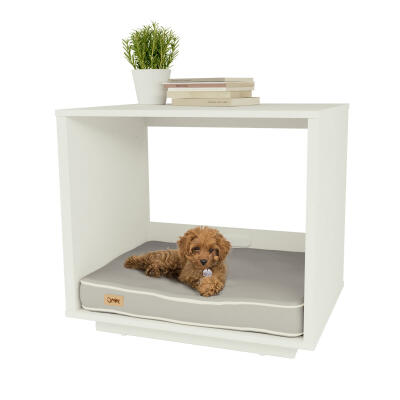 Omlet Fido Nook 24 Dog House - White