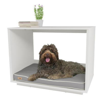 Omlet Fido Nook 36 Dog House - White