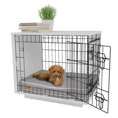 Omlet Fido Studio 24 Dog Crate - White