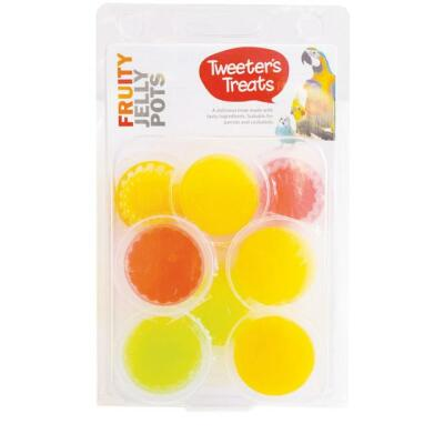 Fruity Jelly Pots Mixed Treats for Birds 8 Pack