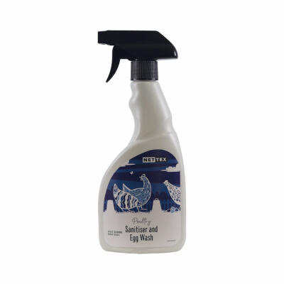 Poultry Sanitiser and Egg Wash  - 500ml