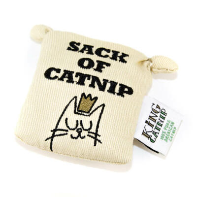 King Catnip - Tote Bag Toy