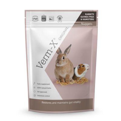 Verm-X Herbal Nuggets for Rabbits 180g