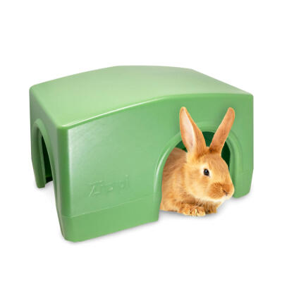 Zippi Boxed Rabbit Shelter Green (079.0047.0001)