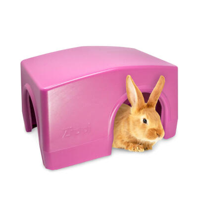 Zippi Boxed Rabbit Shelter Purple (079.0047.0002)