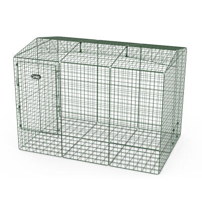 Zippi Rabbit Run with Roof and Underfloor Mesh - Double Height