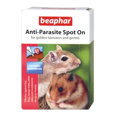 Beaphar Anti-Parasite Spot On for Hamsters & Gerbils