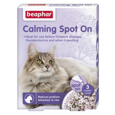 Beaphar Cat Calming Spot On 3 Pipettes