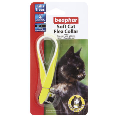 Beaphar Collar Reflectante anti pulgas para gatos