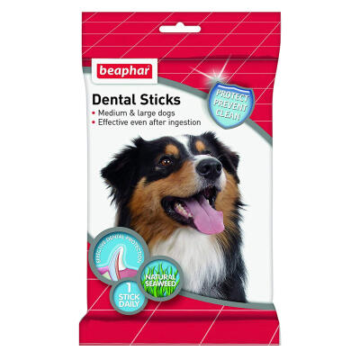Beaphar Dental Sticks for Medium and Large Dogs