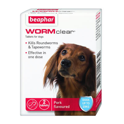 Beaphar Wormclear Treatment for Dogs up to 20kg