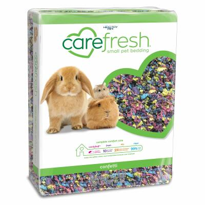 Carefresh djurströ 50L - Confetti