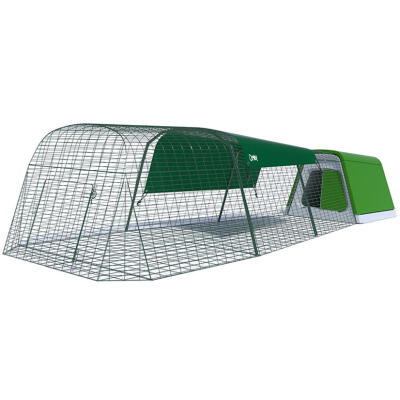 Eglu Go Guinea Pig Hutch with 3m Run Package - Leaf Green