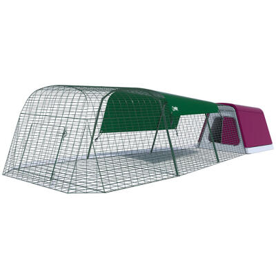 Eglu Go Guinea Pig Hutch with 3m Run Package - Purple