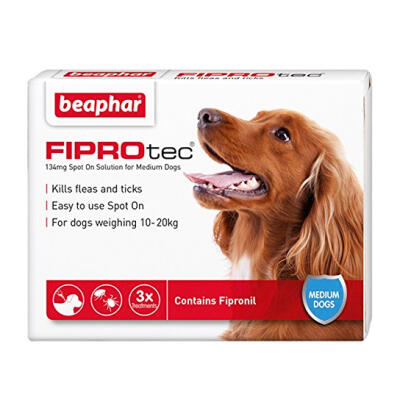 Fiprotec Spot On Flea & Tick Treatment for Medium Dogs