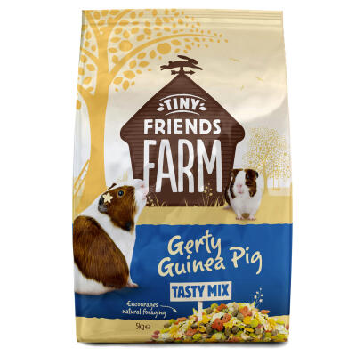 Gerty Guinea Tasty Mix från Tiny Friends Farm - 5kg