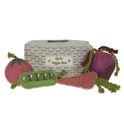Sophie Allport - Veggie Box Dog Toy Set
