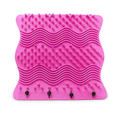 Tapis de toilettage Igloo - Grand - Rose
