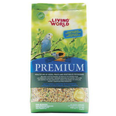 Living World Premium undulatfrön 908g