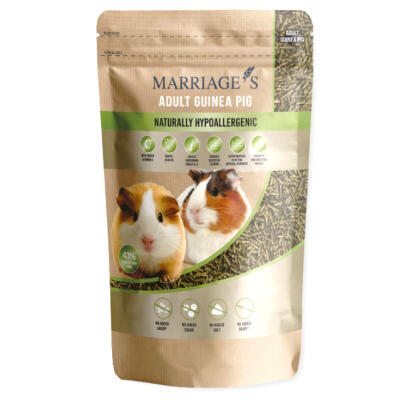 Marriages hypoallergeen nutri-pressed caviavoer - Pellets - 2kg