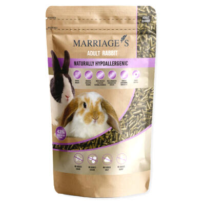 Marriage's Hypoallergenic Nutri Pressed Rabbit Pellets 2kg