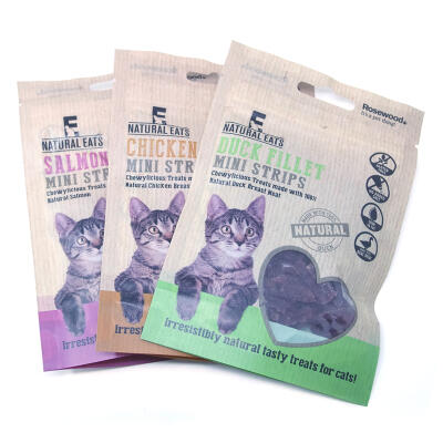 Friandises pour chats Natural Eats - Lot de 3 sachets de 50g
