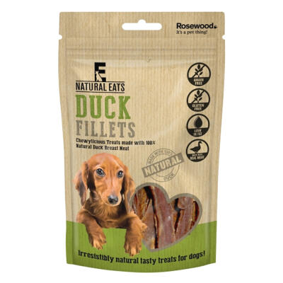 Friandises pour chiens Natural Eats - Filet de canard - 80g