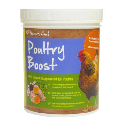 Natures Grub Poultry Boost pellets - 300g