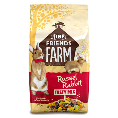 Tiny Friends Farm / Russel Rabbit Kaninchenfutter / 850g
