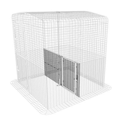 Walk in Chicken Run Partition Low - 2 Panels