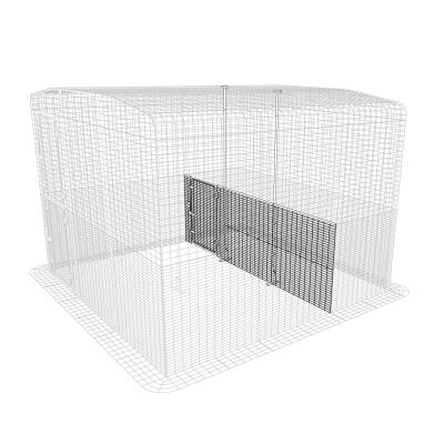 Outdoor Cat Run Partition Low - 3 Panels