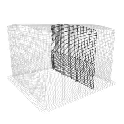 Outdoor Rabbit Run Partition High - 3 Panels