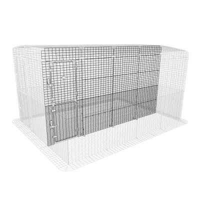 Outdoor Rabbit Run Partition High - 4 Panels