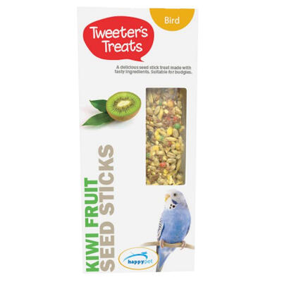 Tweeters Treats Seed Sticks voor parkieten - Kiwi-fruit