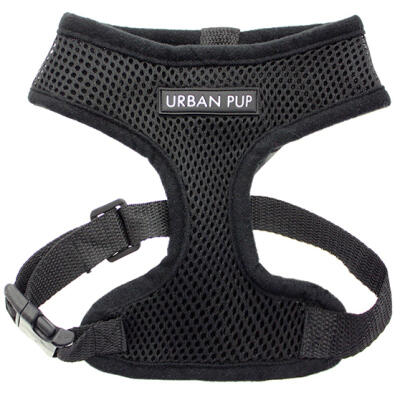 Urban Pup Jet Black Harness Small