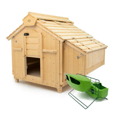 Lenham Chicken Coop with Feeder & Drinker Stand