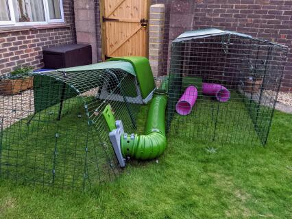 We really like the quality setup that our Eglu Go hutch, run, tunnels and playpens gives our rabbits!