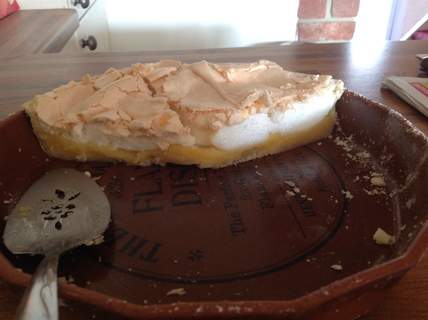 Eggciting lemon pie