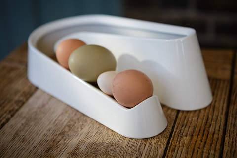 Egg Ramp in cream