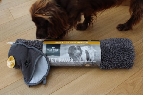 Libby thinks this Wet Paws mat will come in handy with all the rain we've had!