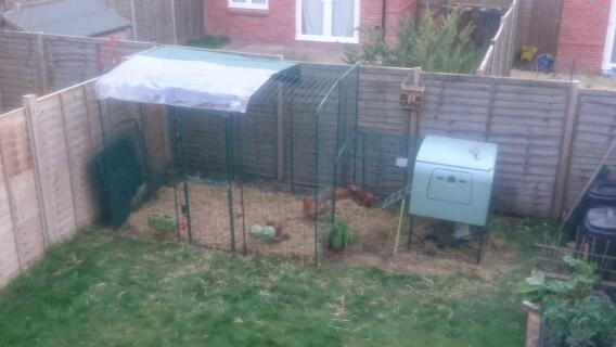 2x3x2 fits in the garden perfectly! Great to walk into, I feel so much closer to my girls!