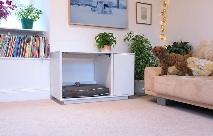 The Omlet Fido Nook complements modern and traditional interiors