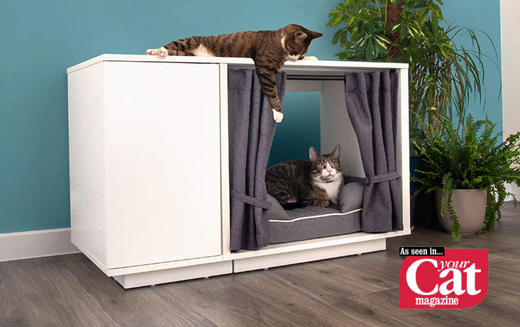 Luxury Indoor Cat House Maya Nook