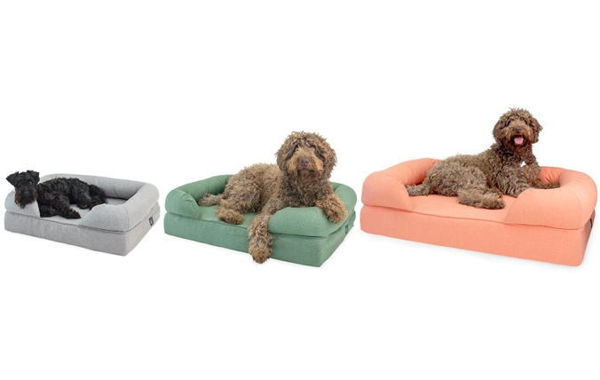 Bolster bed is Available in Three Sizes to Suit Any Dog
