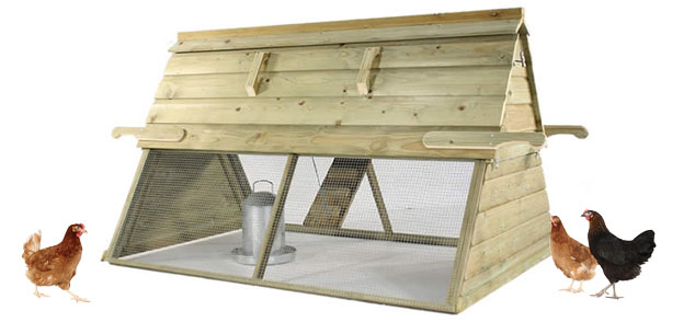 The Boughton Chicken Coop.